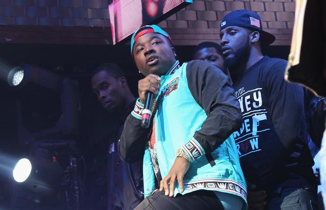 Troy Ave at coors light event