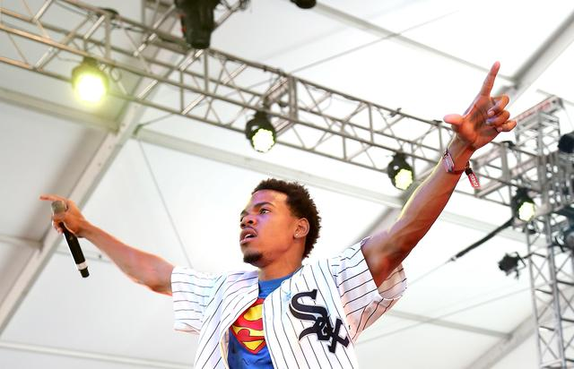 Chance the Rapper 2014 Governors Ball Music Festival - Day 2