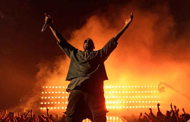 Kanye West at 2015 iHeartRadio Music Festival - Night 1 - Show