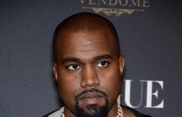 Kanye West at Vogue 95th Anniversary Party : Photocall - Paris Fashion Week