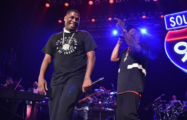 Jay Electronica at a TIDAL event