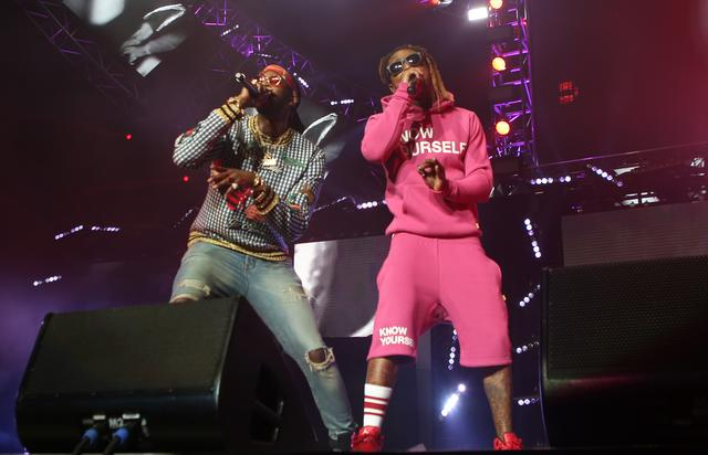 Lil Wayne and 2 Chainz at BET 2016