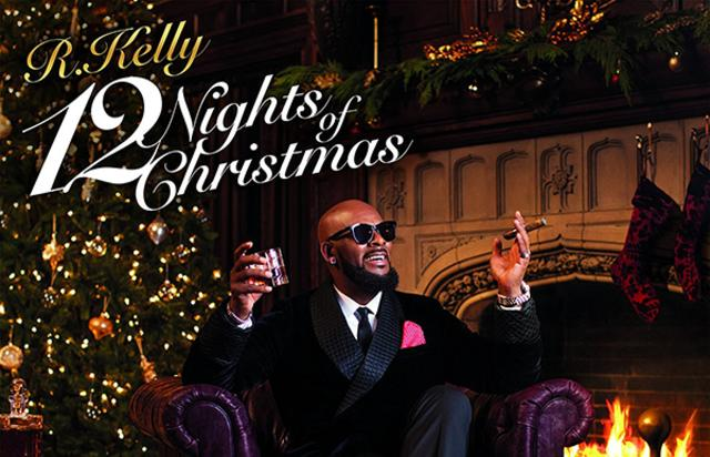 """R. Kelly album cover for """"12 Nights Of Christmas"""""""