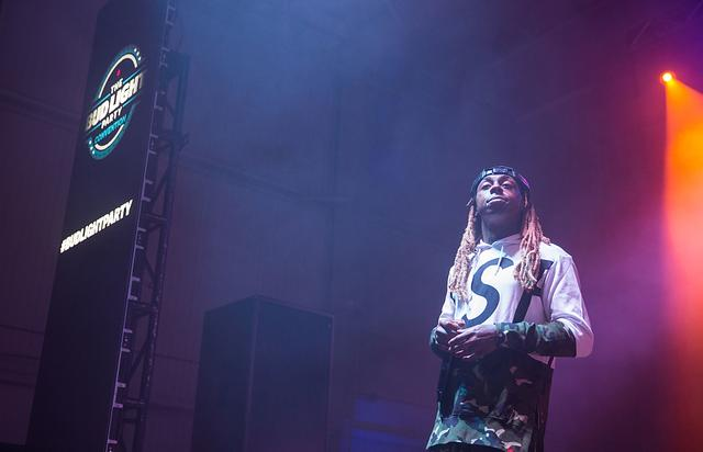Lil Wayne at Bud Light Party Conventions