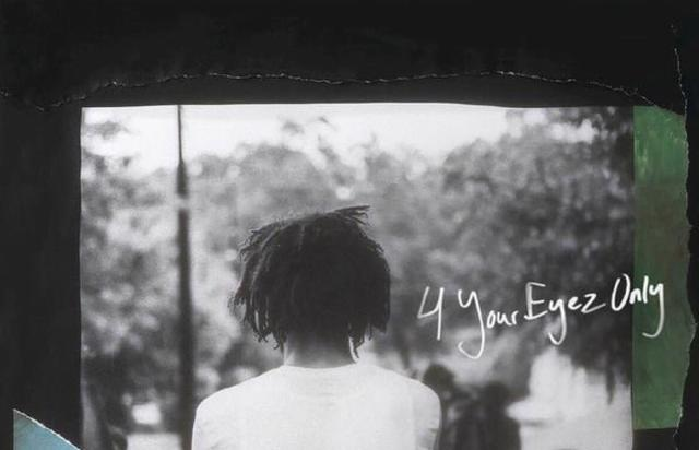 """album cover for J. Cole's """"4 Your Eyez Only"""""""