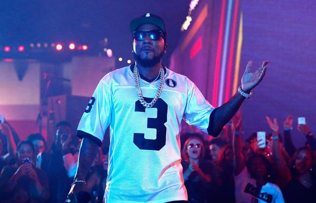 Young Jeezy performing at MTV's Wonderland Live event.