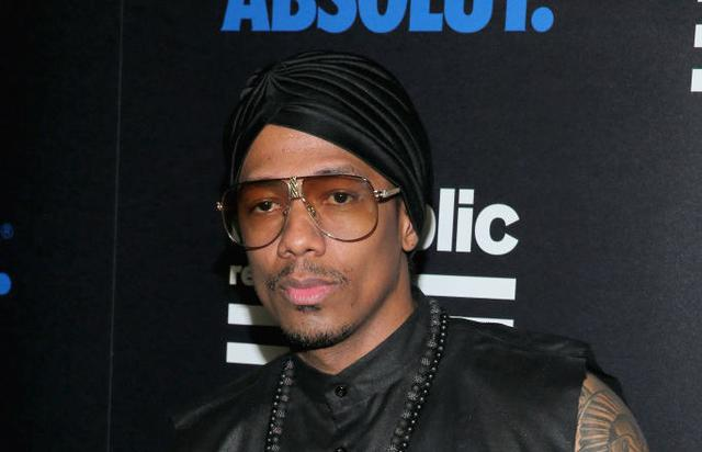 TV Personality Nick Cannon at a celebration of music with Republic Records, in partnership with Absolut and Pryma, at Catch LA on February 12, 2017 in West Hollywood, California.