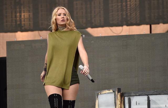 Rapper Iggy Azalea performs on stage at KIIS FM's Wango Tango 2016 at StubHub Center on May 14, 2016 in Carson, California.
