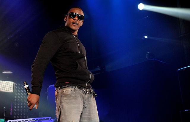 Skepta performs live on stage during 'MTV Crashes Glasgow - headlined by Diddy-Dirty Money' at The Old Fruit Market on September 29, 2010 in Glasgow, Scotland.