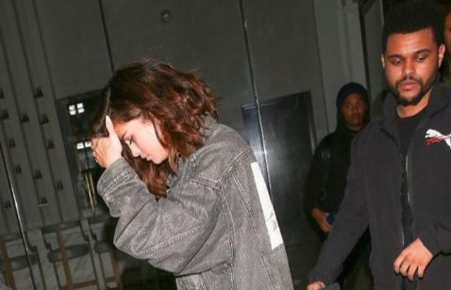 Selena Gomez & The Weeknd step out on a date.