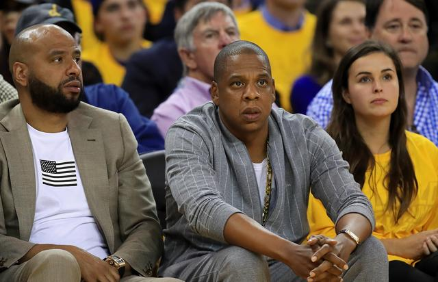 Jay-Z 2017 NBA Finals - Game One
