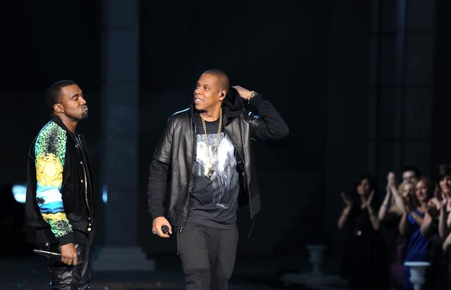 Kanye West & Jay Z perform at the 2011 Victoria's Secret fashion show