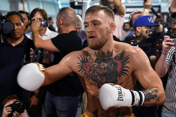 Floyd vs. Conor Final Fight Hype Event