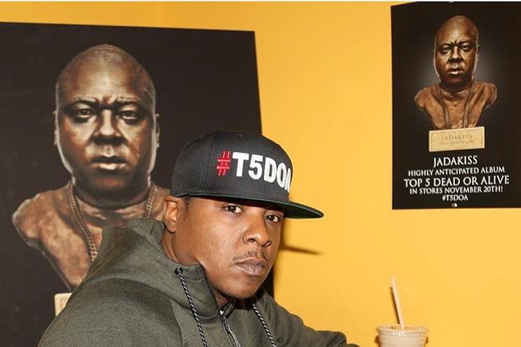 Jadakiss doing T5DOA promo