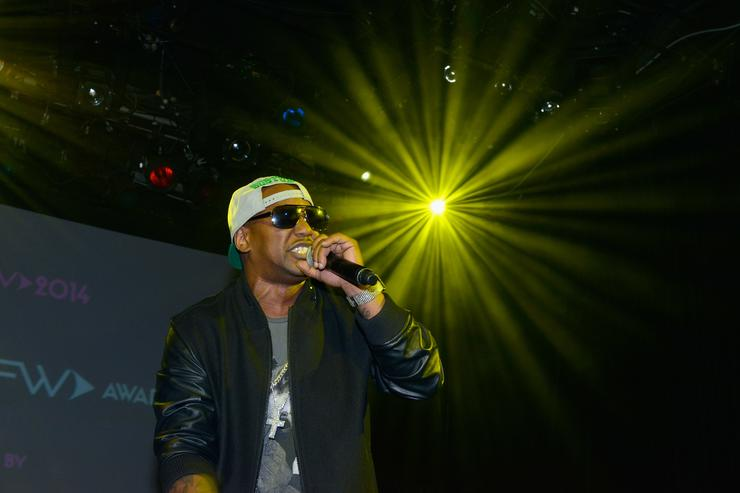 cam'ron at live show