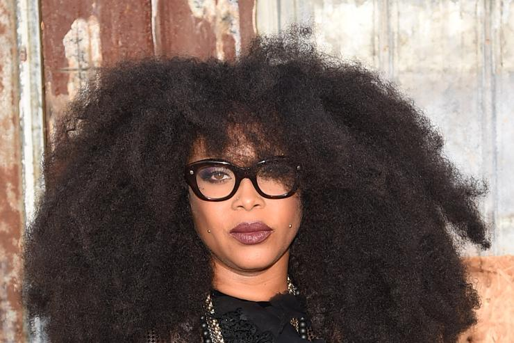 Givenchy - Arrivals - Spring 2016 New York Fashion Week Erykah Badu