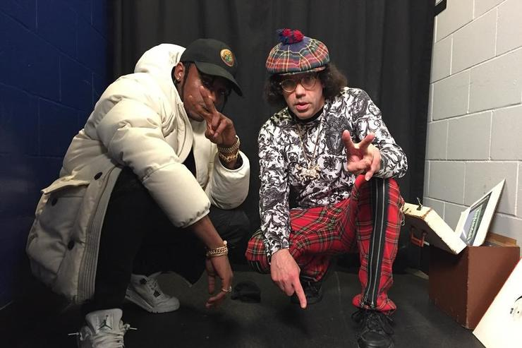 Nardwuar and Travi$ Scott