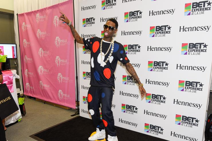 Soulja Boy Official BET Experience Gifting Suite Sponsored By Hennessy