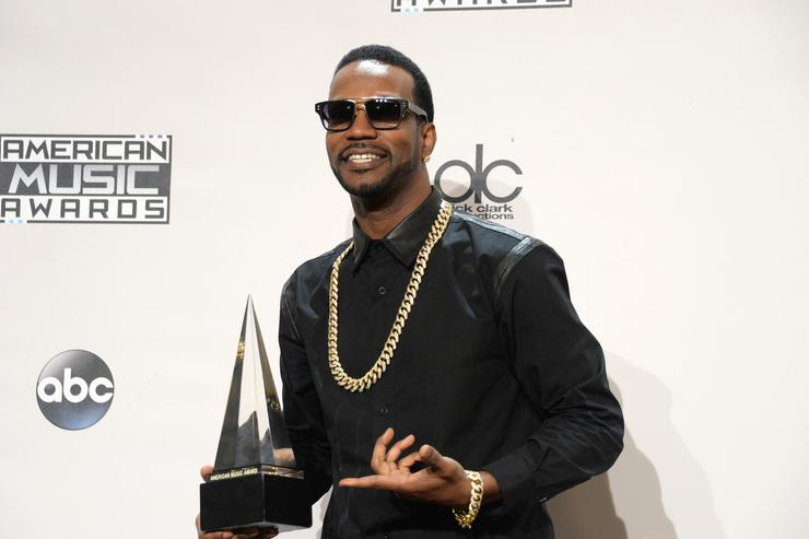 juicy j at the AMAs 2015