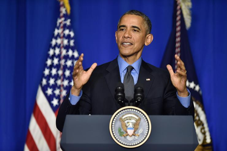 president obama speaks before COP21