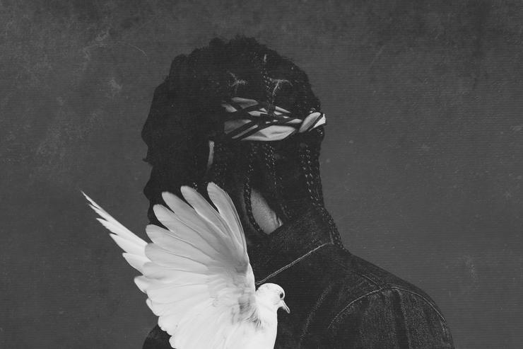 Pusha T 'darkest before dawn' album cover