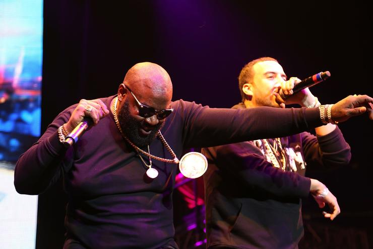 Rick Ross At Busta Rhymes Show In New York
