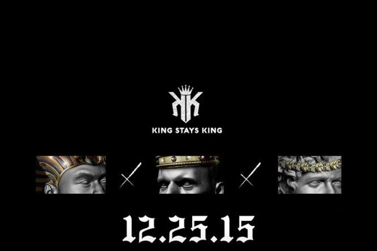 """KING STAYS KING"" album cover"