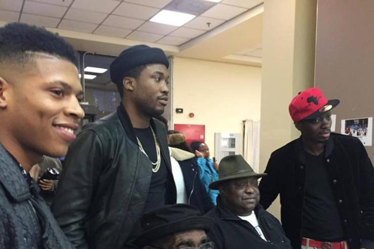 Meek Mill & Michael Blackson charity event