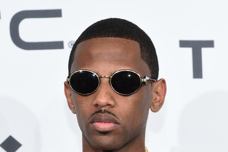 fabolous at a TIDAL red carpet