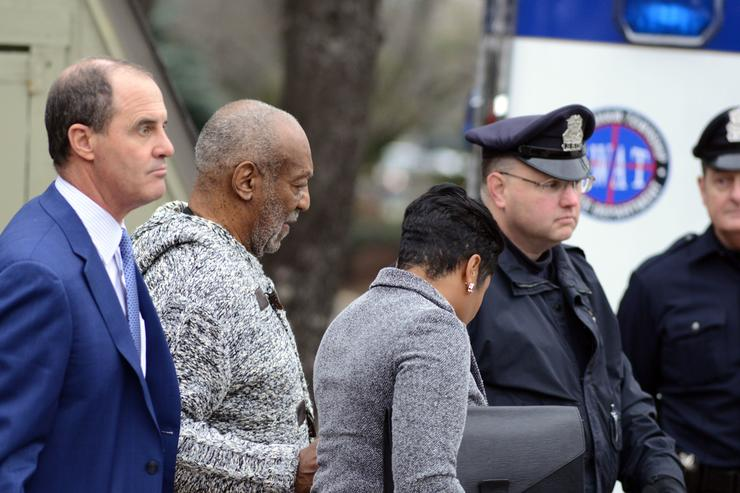 Bill Cosby Arraigned on Sexual Assault Charges in Elkins Park, Pa.