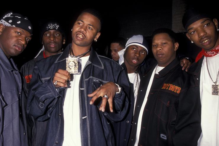 Cash Money crew back in 1999