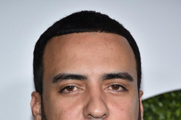 French Montana at a GQ event