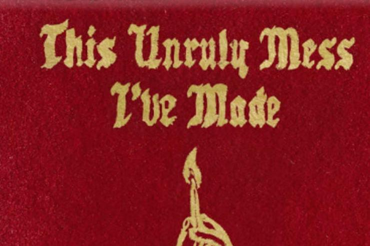 "Macklemore & ryan lewis' album cover for ""this unruly mess i've made"""