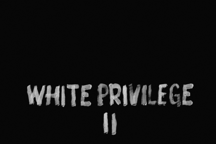 "Macklemore promotes ""White Privilege II"" on Instagram."