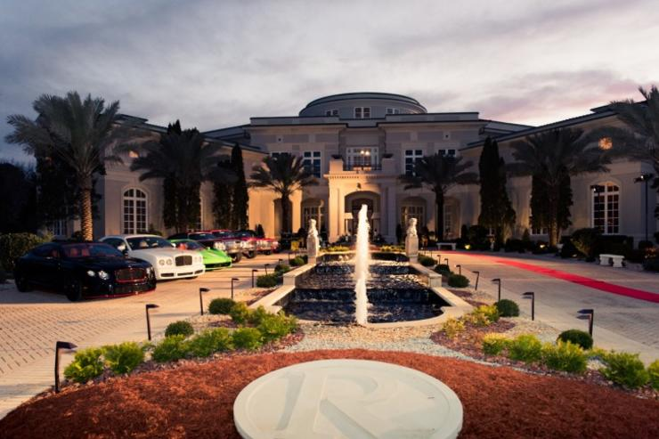 Rick Ross' house in Atlanta.