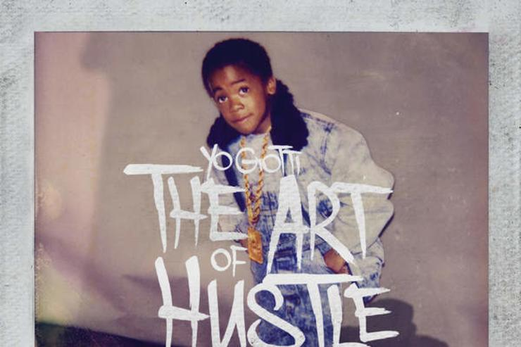 """The Art of Hustle"" standard album cover"