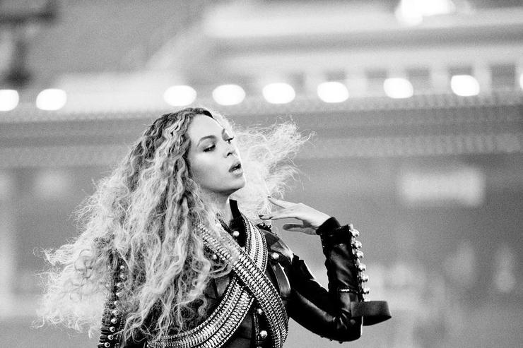 Beyonce at Super Bowl 50 halftime show