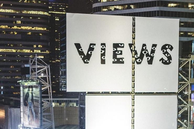 """Views"" Billboard in Toronto"