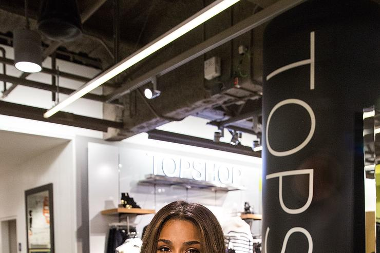 Ciara at Nordstrom in Seattle.