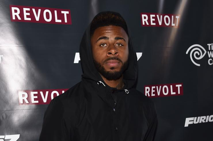 Sage The Gemini at the Furious 7 takeover.