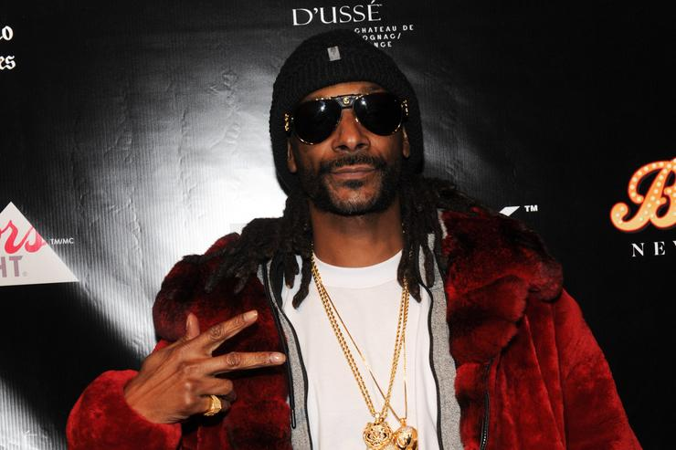 Snoop Dogg at NBA All Star Weekend.