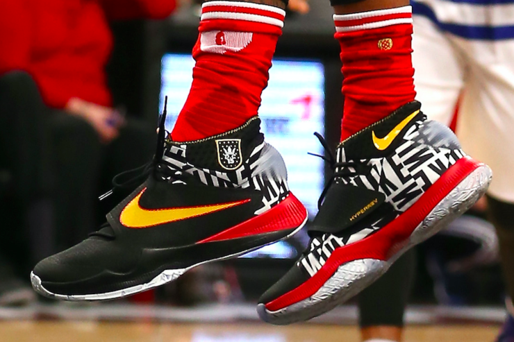 Demarcus Cousins' Shoes at the 2016 ASG.