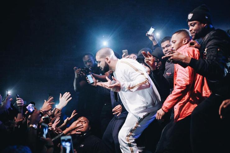 Drake, Skepta and Section Boyz in the UK