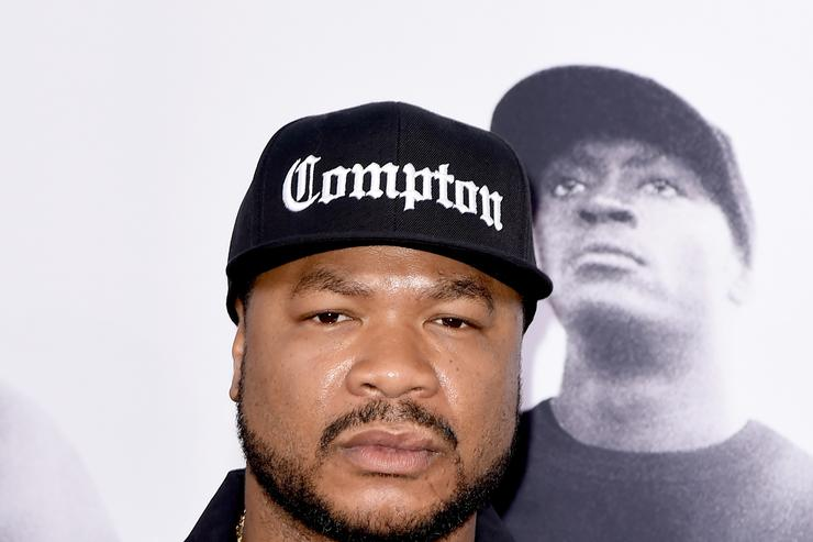Rapper Xzibit arrives at the premiere of Universal Pictures and Legendary Pictures' 'Straight Outta Compton' at the Microsoft Theatre on August 10, 2015 in Los Angeles, California.