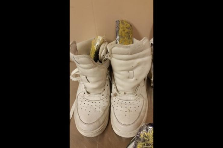 The Air Force 1s used to smuggle heroin.