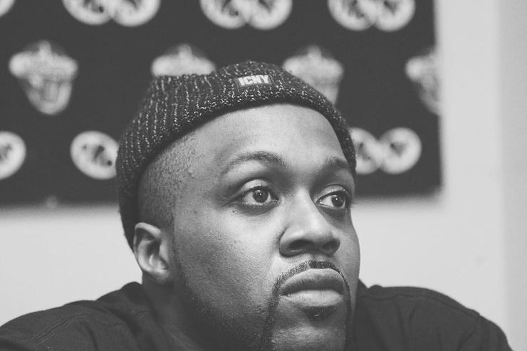 Black and white photo of Smoke DZA