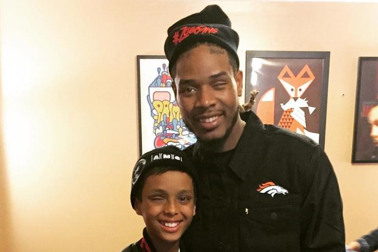 Fetty Wap and his young fan