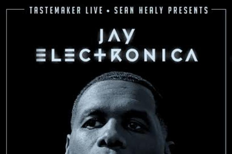 Jay Electronica's tour poster.