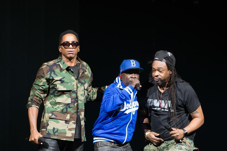 A Tribe Called Quest performs in NYC in 2014.