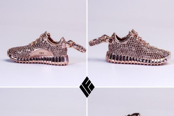The Yeezy Boost diamond pendant.